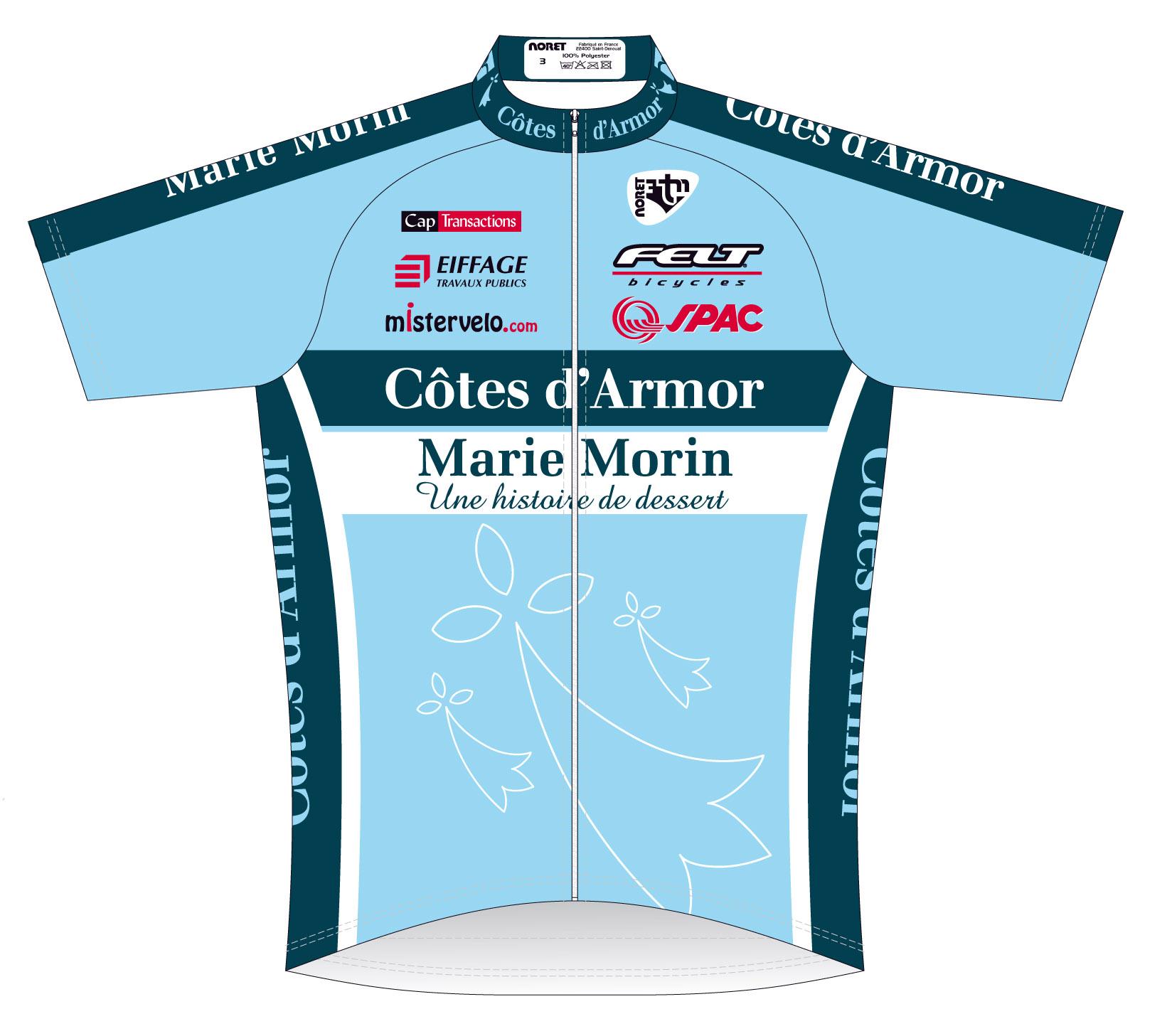 Côtes d'Armor-Marie Morin : Le maillot 2012